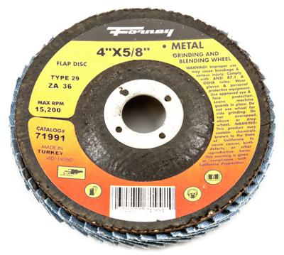 4x5/8 36G T29 Flap Disc