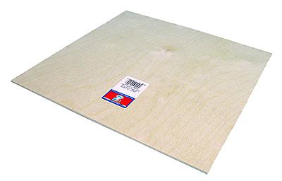 1/8x4x12 Brich Plywood