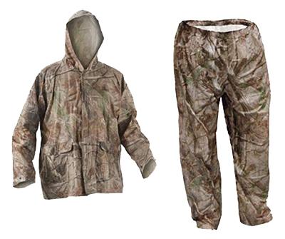 2XL Camo Rain Suit