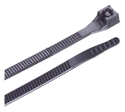 "100PK 14""BLK Xtreme Tie"