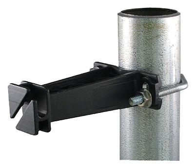 10PK BLK Fenc Insulator