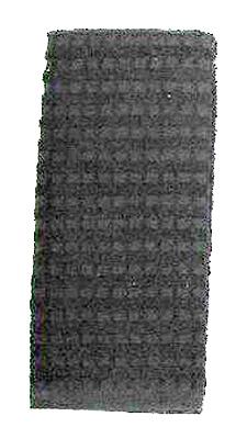 16x26 BLK Kitch Towel