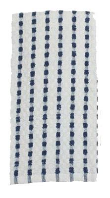 16x26 BLU Striped Towel