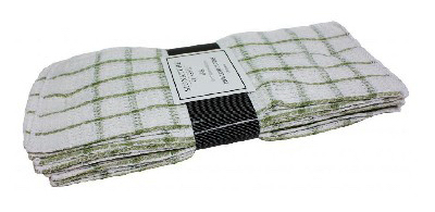 12PK Check Dish Cloth