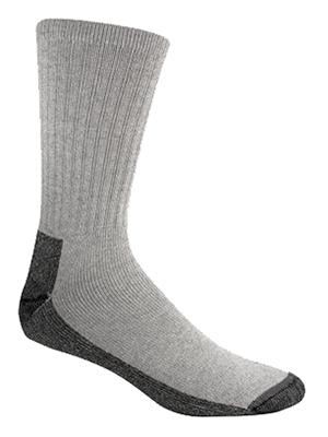 3PK LG GRY Work Sock