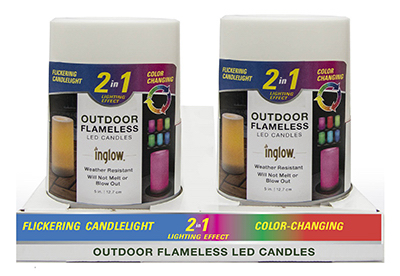 4x8 Color Change Candle