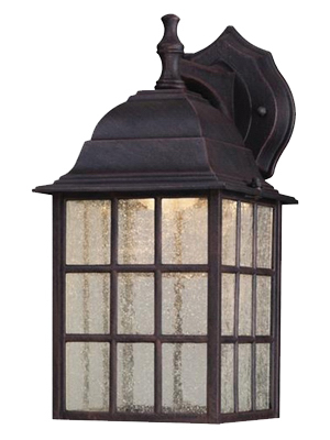 9W Pat LED Wall Lantern - Woods Hardware