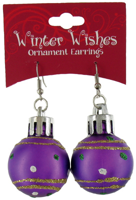 XMAS Ornament Earrings