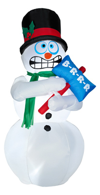 Animated Shiv Snowman