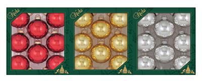 8PK Shiny GLS Ornament