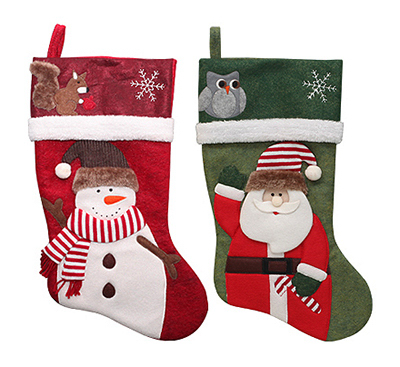 "19"" Mottled Stocking"