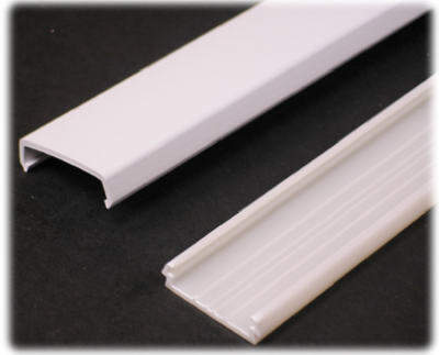 WIREMOLD COMPANY - Wiremold NMW1 5' White Plastic Wire ... on