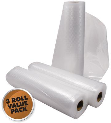 3PK 11x18 Vac Bag Roll