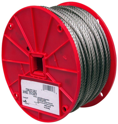 """1/16""""250 SS Cable Reel"""