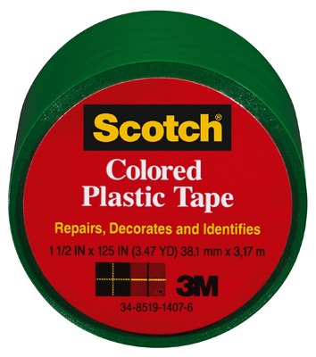 1-1/2x125 GRN Plas Tape