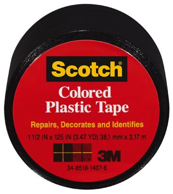 1-1/2x125 BLK Plas Tape