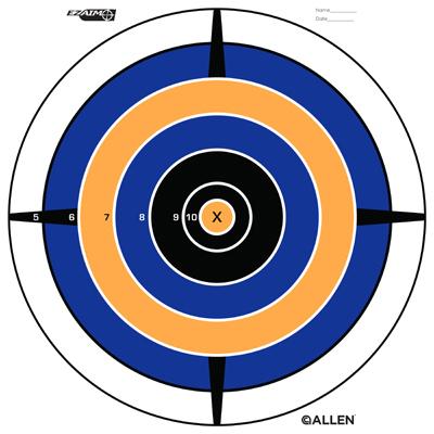 12PK Bullseye Target