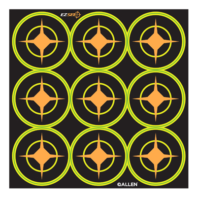 """12PK 2"""" BLK Aiming Dot"""