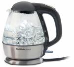 1.5QT Elec Glass Kettle