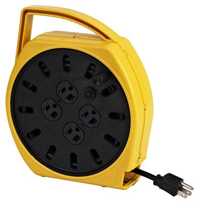 Port Mult Plug CRD Reel - Woods Hardware