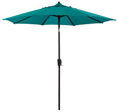 FS 9' Teal STL Umbrella - Woods Hardware