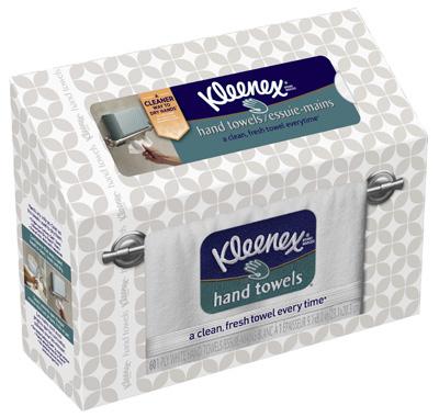 60CT Kleenex Hand Towel - Woods Hardware