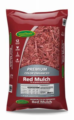 GT 2CUFT RED Mulch - Woods Hardware