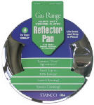 STANCO METAL PROD 800-R Round Reflector Pan, For Gas Range, Fits Most Round Burners