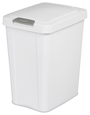 7.5GAL28L WHT Touch Can - Woods Hardware