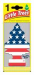 CAR FRESHNER CORP U1P-10945 Vanilla Pride Air Freshener, Flag Print, Pine Tree Shape, Carded.<br>Made