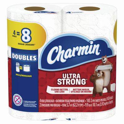 Charmin 4DBL Str Tissue - Woods Hardware