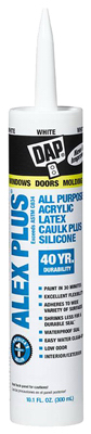 10.1OZ WHT LTX Caulk