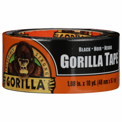 1.88x12YD BLK Gori Tape - Woods Hardware