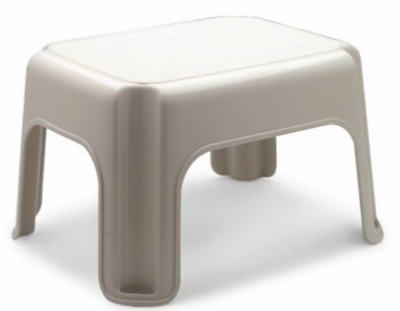 Bisque Step Stool