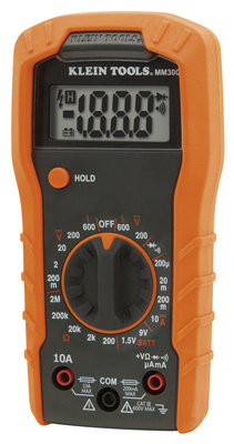 600V Manual Multimeter - Woods Hardware