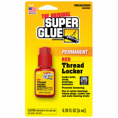 6ML RED Thread Locker