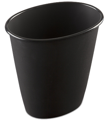 1.5GAL BLK Wastebasket - Woods Hardware