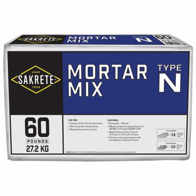 60LB Type N Mortar Mix - Woods Hardware