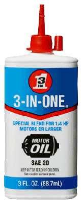 3 In One 3OZ Motor Oil
