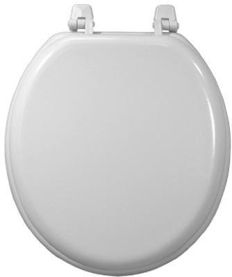 WHT WD Comp Toilet Seat