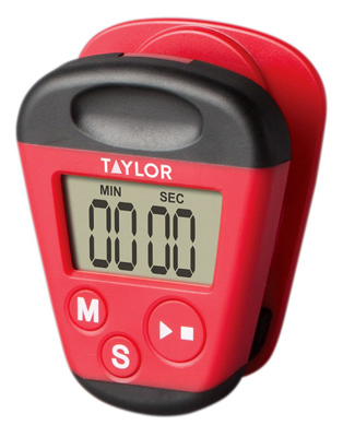 RED Kitch Clip Timer - Woods Hardware