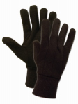 MAGID GLOVE & SAFETY MFG. T91TXL Extra Large, Brown, Full Size Jersey Glove With Knit Wrist