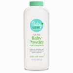 DELTA BRANDS & PRODUCTS LLC 92494-9 Personal Care 10 OZ, Pure Baby Powder, Soft Powder Made