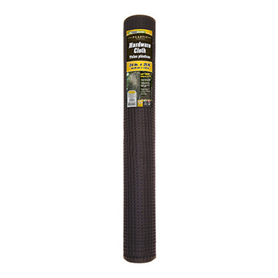 """24""""x25' BLK HDW Cloth"" - Woods Hardware"