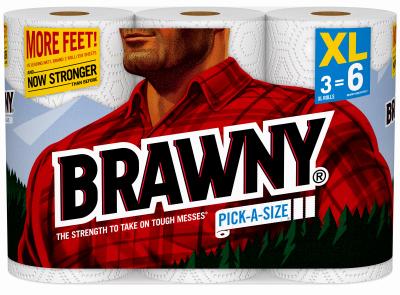 Brawny 3XL Paper Towel - Woods Hardware