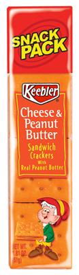 8CT Keebler PB Crackers - Woods Hardware