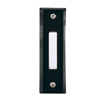 BLK Wired Push Button - Woods Hardware