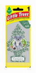 CAR FRESHNER CORP U1P-17365 Eucalyptus Air Freshener, Pine Tree Shape, Carded.<br>Made in: US