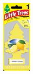CAR FRESHNER CORP U1P-10594 Lemon Grove Air Freshener, Yellow Pine Tree Shape, Carded.<br>Made in: