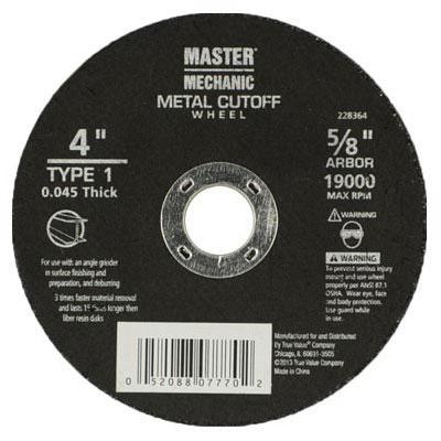 MM 4x.045x5/8 CuttWheel